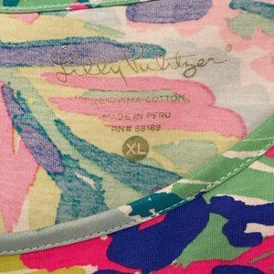 Lilly Pulitzer Dresses - Lilly Pulitzer XL Marlowe ISLAND TIME dress NWOT